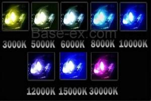 3000k 5000k xenon