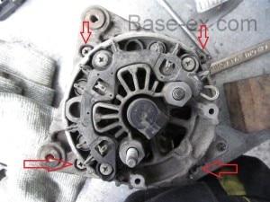 renault maseter генератор