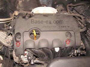 Hyundai Elantra двигатель крышка