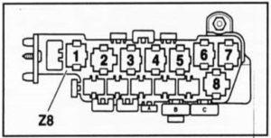 предохранители Volkswagen Passat B5