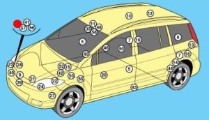 схема Mazda 5
