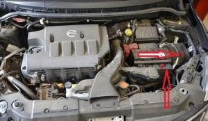 монтажный блок Nissan Tiida
