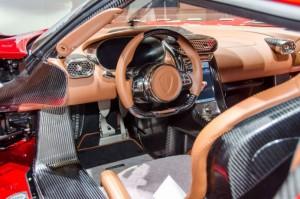 салон Koenigsegg