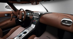 салон спорткара Koenigsegg