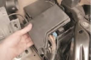 передний блок реле Nissan