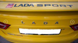 фото Lada Vesta Sport
