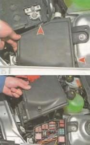 монтажный блок Nissan Almera N17
