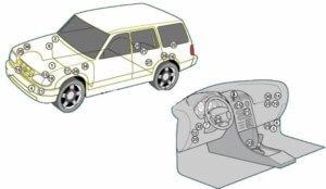 монтажный блок Ford Explorer