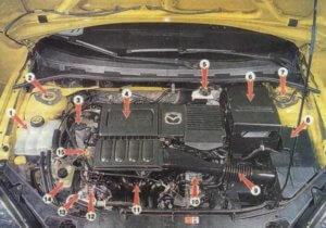 под капотом Mazda 3