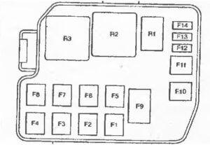 схема Mazda Demio 2