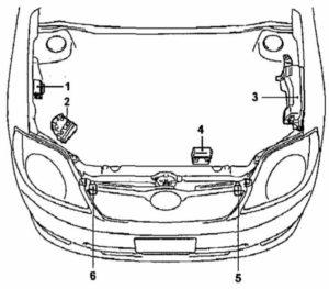 схема Corolla 120