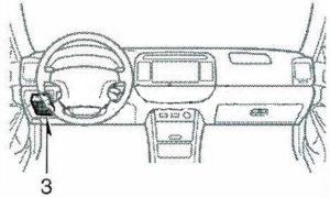 в салоне Toyota Camry 30