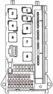 блок реле Volkswagen Crafter