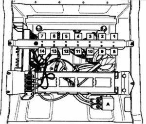 монтажный блок Volkswagen Crafter