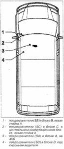 схема Volkswagen Crafter