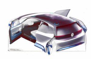 фото электрокар VW
