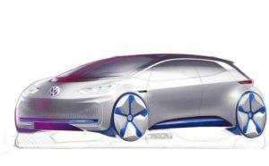обзор электрокар VW
