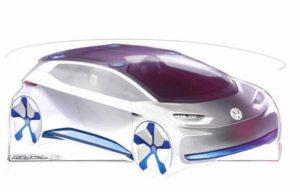 VW электрокар