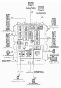 реле Corolla 150, Auris
