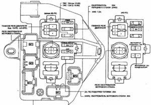 монтажный блок Toyota Mark 2 90