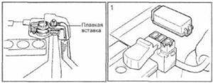 плавкие Toyota Rav4 XA10G