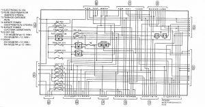 схема реле Toyota Caldina T21