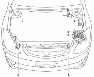схема Toyota Caldina T24