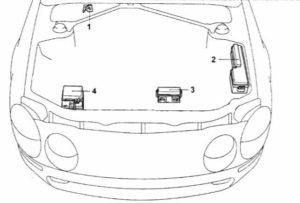 схема Toyota Celica T200