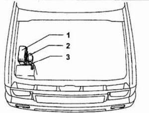 схема Toyota Hilux Surf, 4Runner