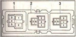 блок реле Toyota Ipsum 1