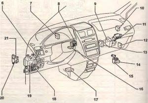 в салоне Toyota Ipsum 1