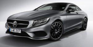 новинка Mercedes Night Edition