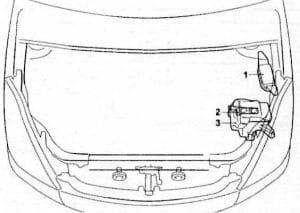 схема Toyota Wish