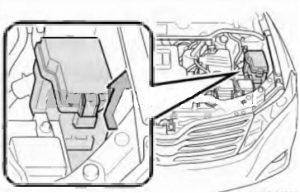 схема Toyota Venza