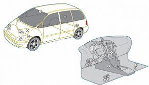 схема Ford Galaxy