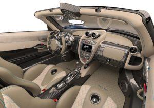салон Huayra Roadster