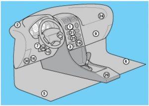 схема Nissan Micra 12