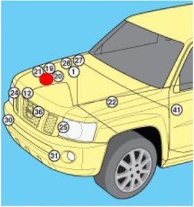 схема Nissan Patrol Y61