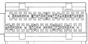 предохранитель Toyota Alphard