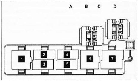 предохранители Passat B6