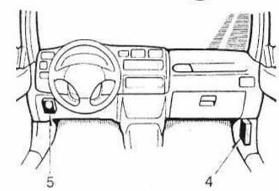 в салоне Toyota Rav4 XA10G