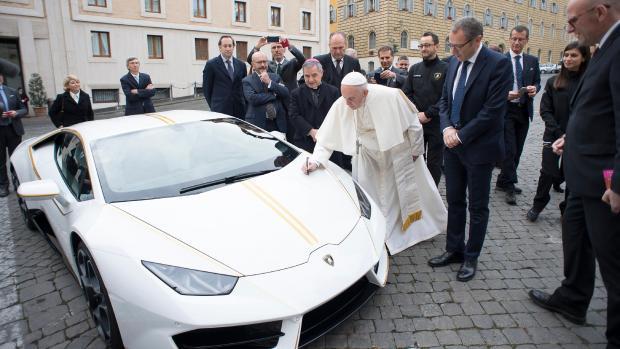 ламборгини папы